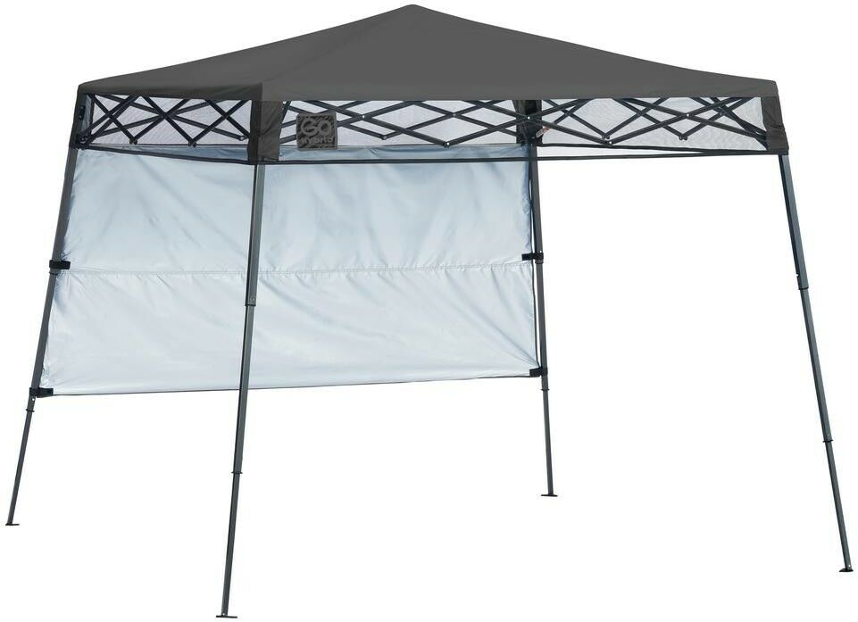 Canopy 7 ft. x 7  ft. Charcoal Slant Leg Lightweight Compact with Teflon Bearings  sell like hot cakes