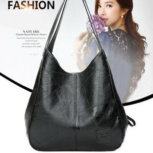 Large-Women-Lady-Leather-Shoulder-Satchel-Handbag-Messenger-Bag-Tote-Satchel