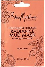 Shea Moisture Coconut - Hibiscus Radiance Mud Mask 0.5 oz