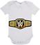 Baby One Piece Romper WWE World Heavyweight Champion belt cotton romper