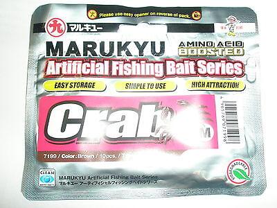 Marukyu Amino Boosted Crab Artifical Bait LRF fishing