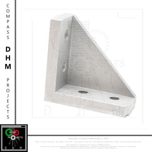 Staffa aperta con alette 90° per profilato serie 5 2020 profilo alluminio CNC