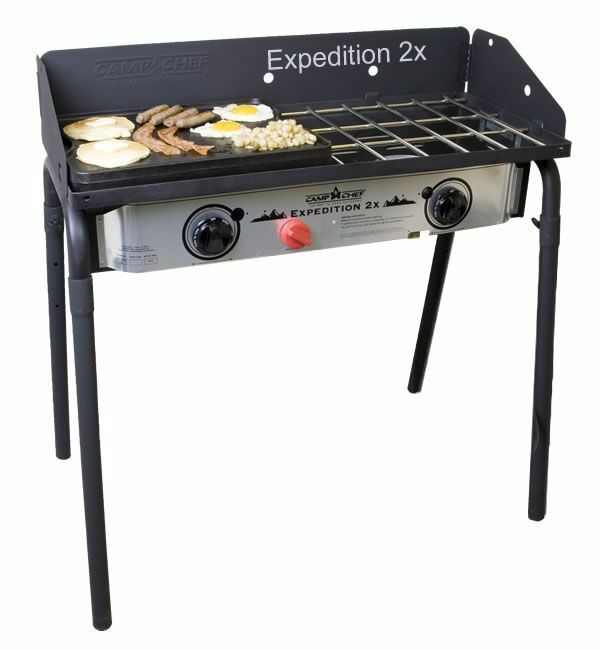 Camp Chef Expedition 2X Double  Burner Stove  more affordable