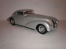 1/18 Bos Models 1938 Mercedes Benz 540K W29 Streamlined Dunlop silver LE of 1000