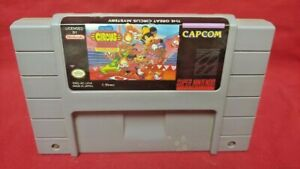 Disney-Great-Circus-Mystery-Authentic-Super-Nintendo-SNES-Game-Works-Tested