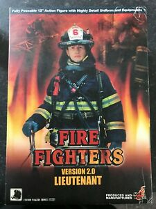Hot-Toys-Fire-Fighter-Lieutenant-Version-2-0-12-inch-Collectable-New
