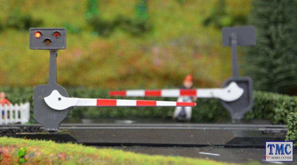 TTLCN10P Train Tech N Gauge Level Crossing Barrier Set with Light & suono N
