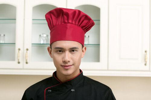 Kappe Bäcker Chef Mode Catering Koch Küche Männer Hut elastisch verstellbar