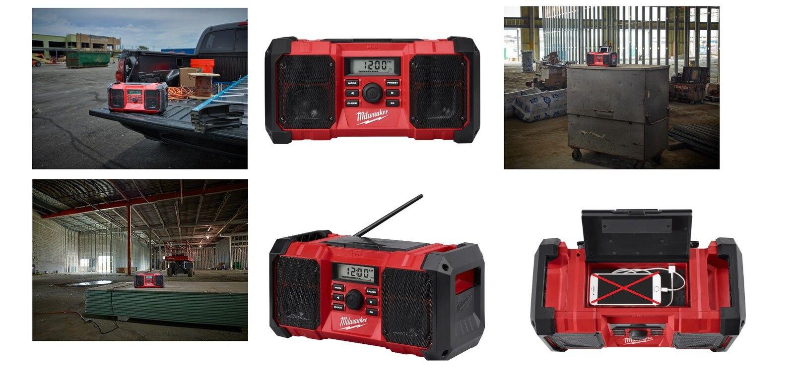 Milwaukee 18 Baustellen-Radio M18 JSR-0  ohne Akku u.Ladegerät 4933451250