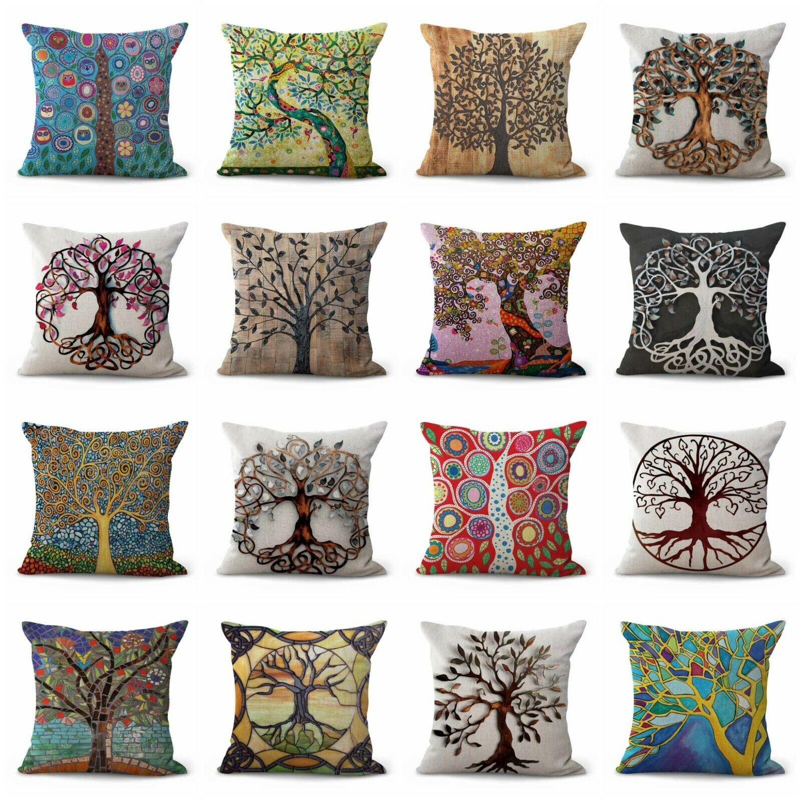 US Vendeur-Lot de 12 garnitures chaise coussins de remplacement arbre de vie