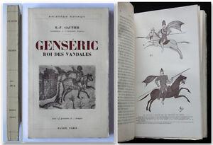 Gautier-GENSERIC-Roi-des-Vandales-1935-Payot-biografia-storica-Genserico-Vandali
