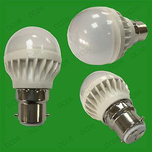 X-25-5W-B22-Lumiere-jour-Blanc-6500K-BC-Mini-Globe-Balle-De-Golf-LED-Ampoule