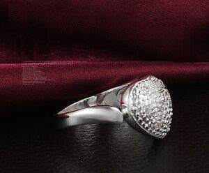 30ba7686f194 Das Bild wird geladen Ring-Silberringe-925-Sterling-Damen- Geburtstagsgeschenk-Herz-Geschenk-