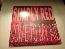 """SIMPLY RED - SPANISH PROM0 7"""" SINGLE SPAIN COME TO MY AD"""