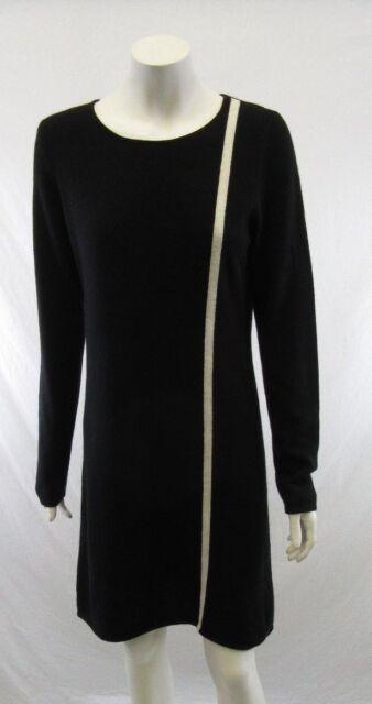 Neiman Marcus Womens Black 100 Cashmere Dress Very Soft Sweater