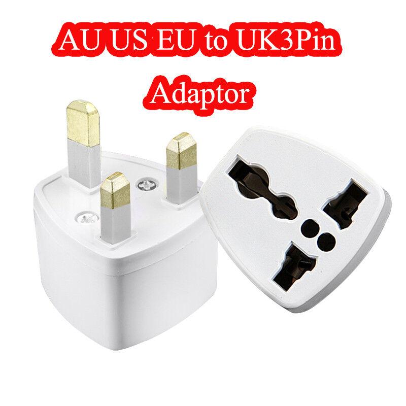 2.5 A UE 2 broches à 3 broches Royaume-Uni Rasoir Rasoir Rasoir électrique Brosse à dents Plug Adaptateur Chargeur Voyage 3409bb