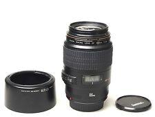 Canon EF MACRO 100mm F2.8 USM + ET-67B Hood