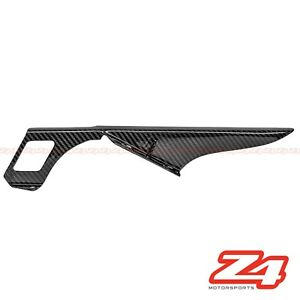 1999-2007 Hayabusa GSX1300R Rear Chain Guard Mud Cover Fairing Cowl Carbon Fiber
