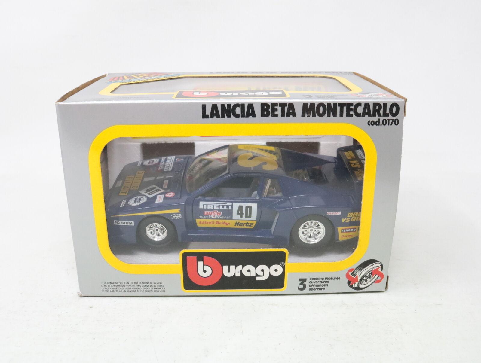 1 24 BBURAGO LANCIA BETA MONTEautoLO cod. 0170  [KT005]