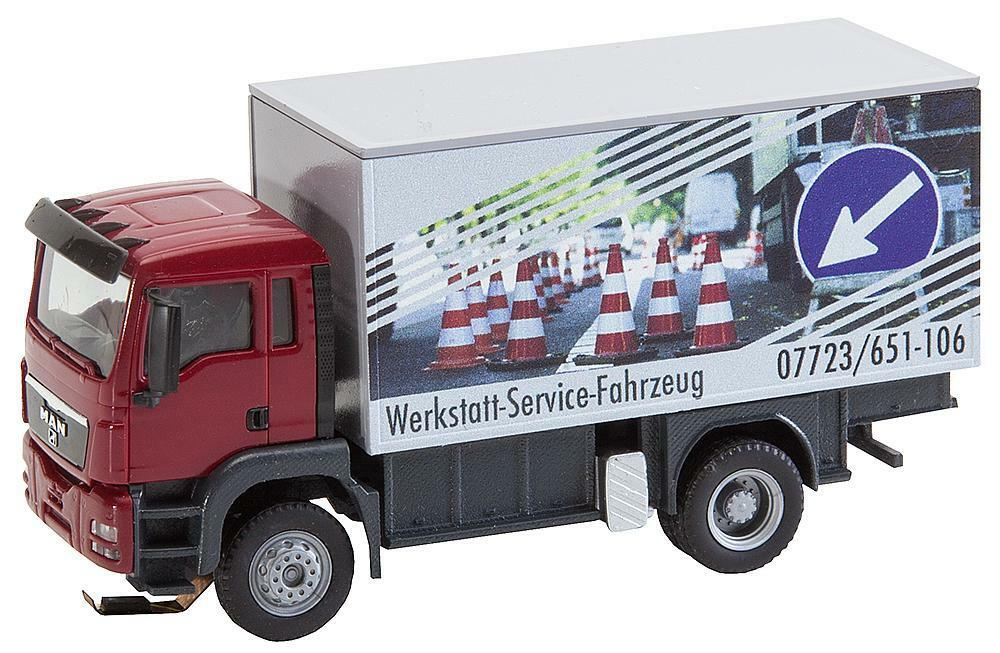Faller H0 161554 CAR SYSTEM MAN TGS VAGONE SERVIZIO OFFICINA