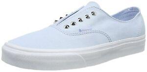 1bab14fd87 Vans Unisex Authentic Gore Studs Skyway Skate Shoes BLUE Mens 8.5 ...