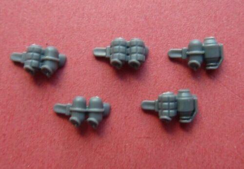 Bits 40K INCURSORS 5 X GRENADE PACKS Space Marine PRIMARIS INFILTRATORS