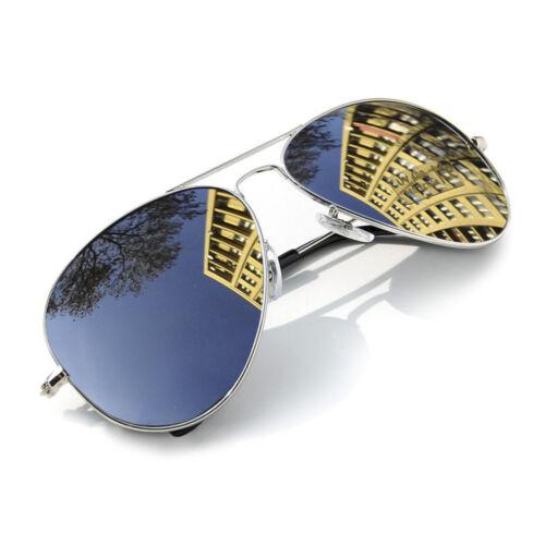 Pilot Sonnenbrille Mode 80s Herren Damen Retro Designer Sonnenbrille UV