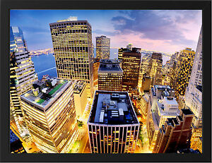 LOWER-MANHATTAN-NEW-YORK-NEW-A3-FRAMED-PHOTOGRAPHIC-PRINT-POSTER