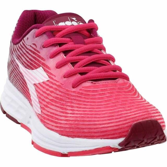 Diadora Action +3  Casual Running  Shoes Burgundy Womens - Size 6.5 B