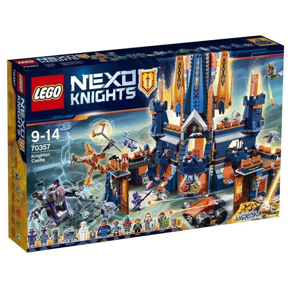 LEGO NEXO KNIGHTS 70357 IL CASTELLO DI KNIGHTON - KNIGHTON CASTLE