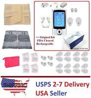 Tens Unit Device Massager Full Body Neck Back Pain Ache Sciatica Relief 16mode Y