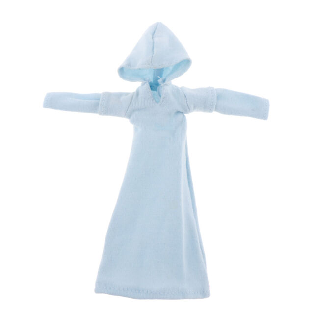 1//9Doll Clothes Action Figure Dress Hooded Dress 8cm Length Dress Doll Cloth