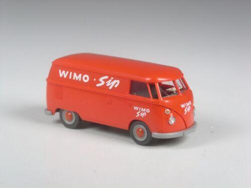TOP Wiking Sondermodell VW T1 Kasten Wimo Sip orangerot