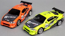 RC 1/24 Radio Control DRIFT Car MITSUBISHI ECLIPSE 4WD DRIFT Package - 2 CARS -