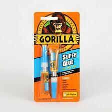 2 x 3g Tubetti di Gorilla Colla Super per metallo,legno,ceramica,pelle,plastica