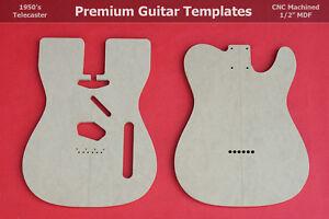 Cnc Guitar Templates. telecaster body router template set wvintage ...