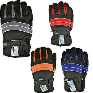 THERMAL-INSULATION-WINTER-WARM-SKI-GLOVES-LINING-WATERPROOF-HEATED-COLD