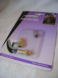 Nouveau 3 pièces valve adaptateurs de gonflage vélo pneus pneus EDCO 84330  </span>