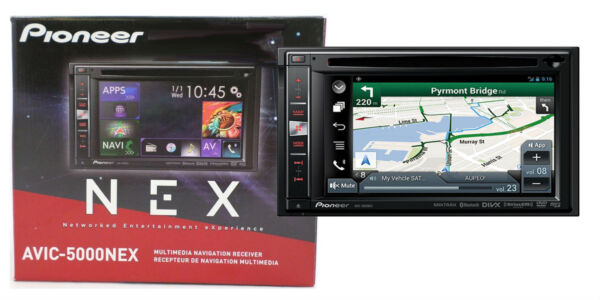 Pioneer AVIC-5000NEX 6.1-Inch DVD MP3 USB Bluetooth Touchscreen Receiver on
