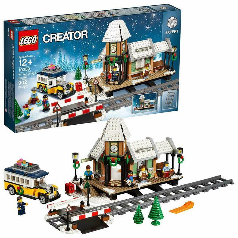 Lego Creator Expert Village Hivernal Station 10259 Building Kit   prix les plus bas