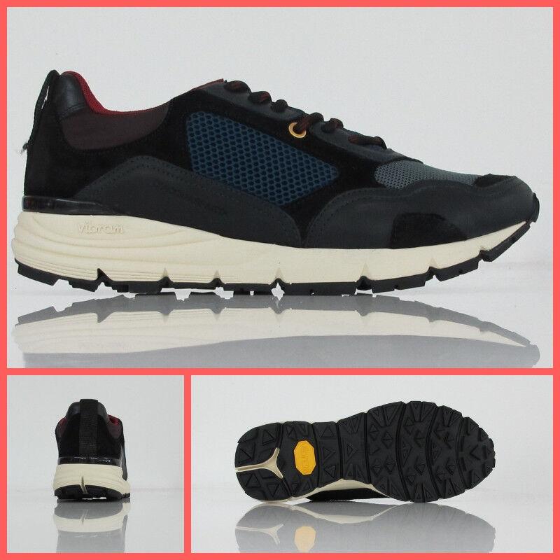 D'ACQUASPARTA scarpe scarpe da ginnastica uomo BRUNELL U250 NGN col. BLU NERO inverno 2018 | Qualità Affidabile  | Uomo/Donna Scarpa