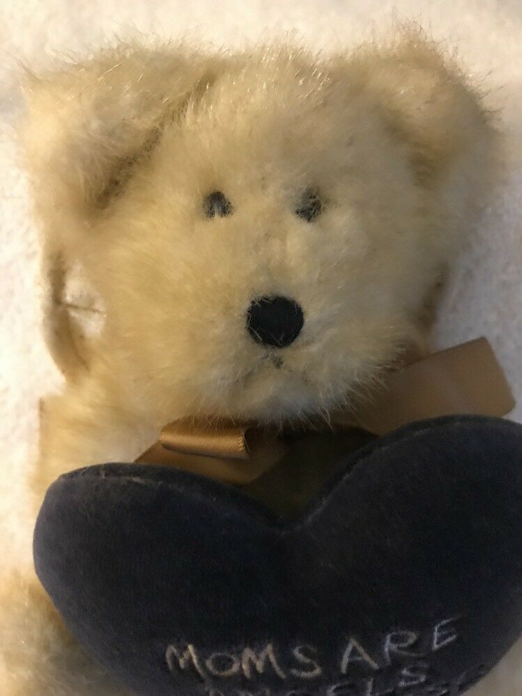"Boyds Bear Plush Carin Angelmom Holding Pillow Plush Bear 6"" 2e1a2b"