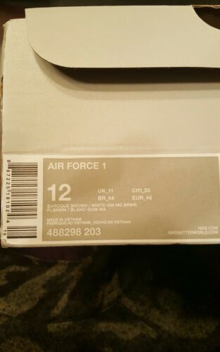 Nike 1 Tama 203 488298 12 o Air Force 887225181024 EFW7q4Er