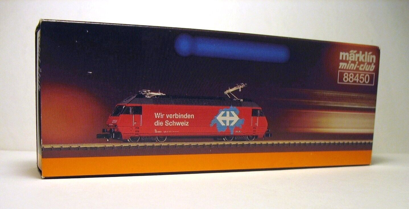 MARKLIN Z 88450 - locomotiva elettrica Re460  Suisse