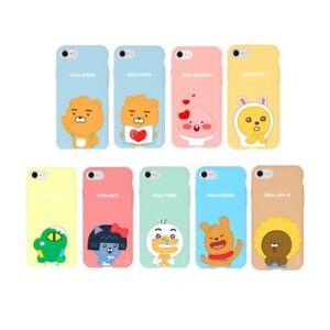sale retailer 071ab 8814e Details about KAKAO FRIENDS Little Friends Soft Jelly Bumper Case Samsung  Galaxy S9/S9 Plus