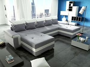 Couch Garnitur Ecksofa Sofagarnitur Sofa Opti Schlaffunktion