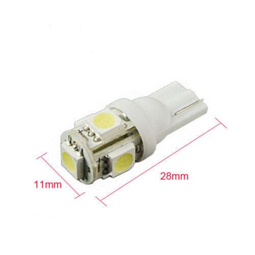 50 pack T5,T10 Wedge Bulb Pure white LED for Malibu 12V AC//DC Landscape Light