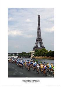 CYCLING-TOUR-DE-FRANCE-PHOTOGRAPH-POSTER-UNFRAMED-GRAHAM-WATSON-POSTER