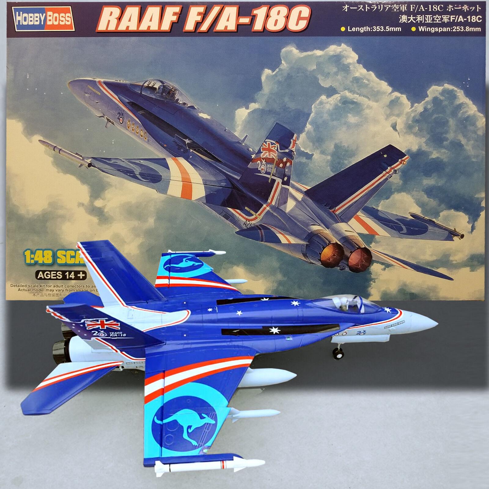 HOBBY BOSS 1 48 RAAF F A-18C HORNET MODEL KIT 85809