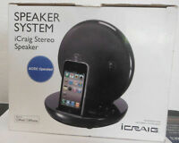 Icraig Stereo Speaker System For Ipod & Iphone (cmb3218)